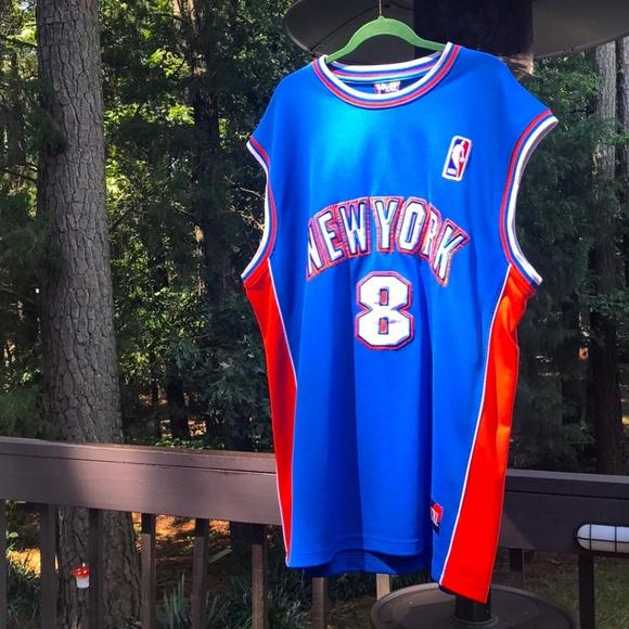 new product 83ce3 7730b Latrell Sprewell New York Knicks Jersey